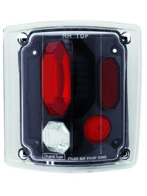Headlights & Tail Lights - Tail Lights - In Pro Carwear - Chevrolet CK Truck IPCW Taillights - Crystal Eyes - 1 Pair - CWT-CE302CB