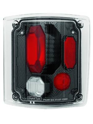 Headlights & Tail Lights - Tail Lights - In Pro Carwear - Chevrolet CK Truck IPCW Taillights - Crystal Eyes - 1 Pair - CWT-CE302CF