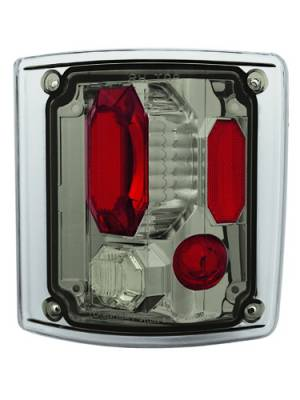 Headlights & Tail Lights - Tail Lights - In Pro Carwear - Chevrolet Suburban IPCW Taillights - Crystal Eyes - 1 Pair - CWT-CE302CS