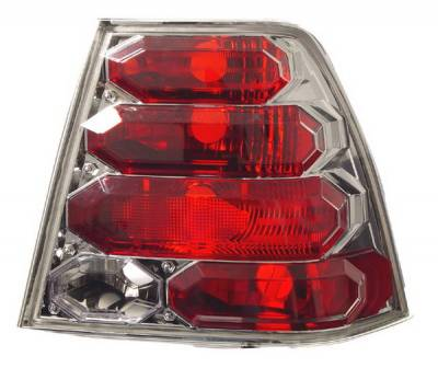 Headlights & Tail Lights - Tail Lights - In Pro Carwear - Volkswagen Jetta IPCW Taillights - Crystal Eyes - 1 Pair - CWT-CE3034C