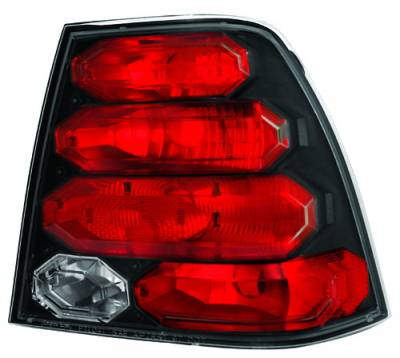 Headlights & Tail Lights - Tail Lights - In Pro Carwear - Volkswagen Jetta IPCW Taillights - Crystal Eyes - 1 Pair - CWT-CE3034CB