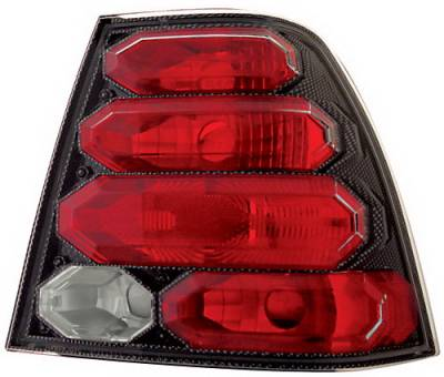 Headlights & Tail Lights - Tail Lights - In Pro Carwear - Volkswagen Jetta IPCW Taillights - Crystal Eyes - 1 Pair - CWT-CE3034CF