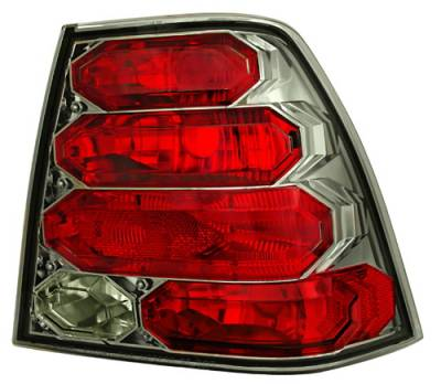 Headlights & Tail Lights - Tail Lights - In Pro Carwear - Volkswagen Jetta IPCW Taillights - Crystal Eyes - 1 Pair - CWT-CE3034CS