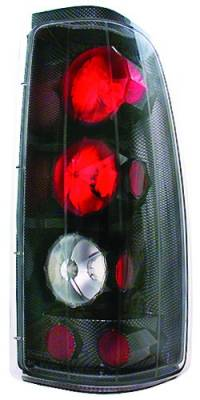 Headlights & Tail Lights - Tail Lights - In Pro Carwear - GMC Sierra IPCW Taillights - Crystal Eyes - 1 Pair - CWT-CE3039CF