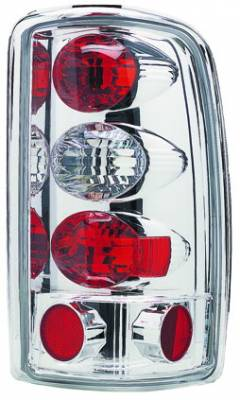 Headlights & Tail Lights - Tail Lights - In Pro Carwear - Chevrolet Tahoe IPCW Taillights - Crystal Eyes - 1 Pair - CWT-CE304