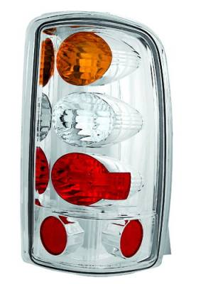 Headlights & Tail Lights - Tail Lights - In Pro Carwear - Chevrolet Tahoe IPCW Taillights - Crystal Eyes - 1 Pair - CWT-CE304CA