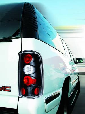 Headlights & Tail Lights - Tail Lights - In Pro Carwear - Chevrolet Suburban IPCW Taillights - Crystal Eyes - 1 Pair - CWT-CE304CB