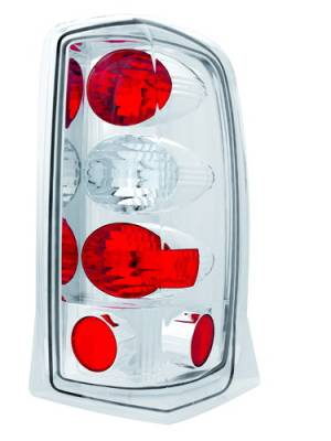 Headlights & Tail Lights - Tail Lights - In Pro Carwear - Cadillac Escalade IPCW Taillights - Crystal Eyes - 1 Pair - CWT-CE305C