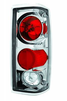 Headlights & Tail Lights - Tail Lights - In Pro Carwear - Chevrolet S10 IPCW Taillights - Crystal Eyes - 1 Pair - CWT-CE309C