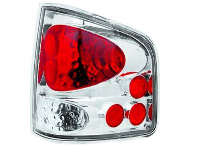 Headlights & Tail Lights - Tail Lights - In Pro Carwear - Chevrolet S10 IPCW Taillights - Crystal Eyes - 1 Pair - CWT-CE310C