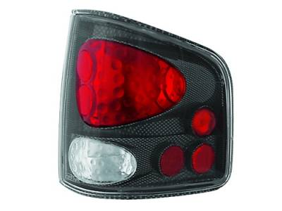 Headlights & Tail Lights - Tail Lights - In Pro Carwear - Chevrolet S10 IPCW Taillights - Crystal Eyes - 1 Pair - CWT-CE310CF