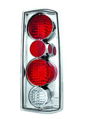 Headlights & Tail Lights - Tail Lights - In Pro Carwear - Chevrolet Astro IPCW Taillights - Crystal Eyes - 1 Pair - CWT-CE314C