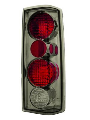 Headlights & Tail Lights - Tail Lights - In Pro Carwear - GMC Safari IPCW Taillights - Crystal Eyes - 1 Pair - CWT-CE314CS