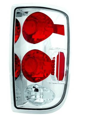 Headlights & Tail Lights - Tail Lights - In Pro Carwear - Chevrolet Blazer IPCW Taillights - Crystal Eyes - 1 Pair - CWT-CE320C