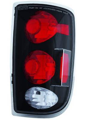 Headlights & Tail Lights - Tail Lights - In Pro Carwear - GMC Jimmy IPCW Taillights - Crystal Eyes - 1 Pair - CWT-CE320CB