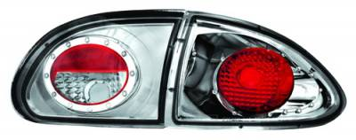 Headlights & Tail Lights - Tail Lights - In Pro Carwear - Chevrolet Cavalier IPCW Taillights - Crystal Eyes - 1PC - CWT-CE321C