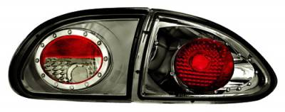 Headlights & Tail Lights - Tail Lights - In Pro Carwear - Chevrolet Cavalier IPCW Taillights - Crystal Eyes - 1PC - CWT-CE321CS