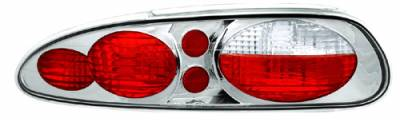 Headlights & Tail Lights - Tail Lights - In Pro Carwear - Chevrolet Camaro IPCW Taillights - Crystal Eyes - 1 Pair - CWT-CE322