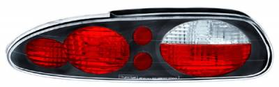 Headlights & Tail Lights - Tail Lights - In Pro Carwear - Chevrolet Camaro IPCW Taillights - Crystal Eyes - 1 Pair - CWT-CE322CB