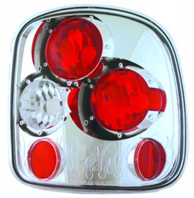 Headlights & Tail Lights - Tail Lights - In Pro Carwear - GMC Sierra IPCW Taillights - Crystal Eyes - 1 Pair - CWT-CE325C