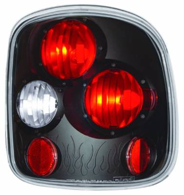 Headlights & Tail Lights - Tail Lights - In Pro Carwear - GMC Sierra IPCW Taillights - Crystal Eyes - 1 Pair - CWT-CE325CB