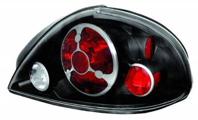 Headlights & Tail Lights - Tail Lights - In Pro Carwear - Pontiac Grand Am IPCW Taillights - Crystal Eyes - 1 Pair - CWT-CE326CB