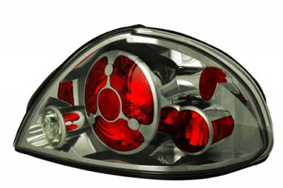 Headlights & Tail Lights - Tail Lights - In Pro Carwear - Pontiac Grand Am IPCW Taillights - Crystal Eyes - 1 Pair - CWT-CE326CS