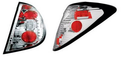 Headlights & Tail Lights - Tail Lights - In Pro Carwear - Saturn Ion IPCW Taillights - Crystal Eyes - 1 Pair - CWT-CE3327C