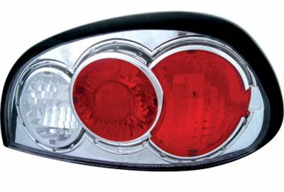 Headlights & Tail Lights - Tail Lights - In Pro Carwear - Pontiac Grand Am IPCW Taillights - Crystal Eyes - CWT-CE340C