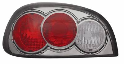 Headlights & Tail Lights - Tail Lights - In Pro Carwear - Pontiac Grand Am IPCW Taillights - Crystal Eyes - CWT-CE340CS