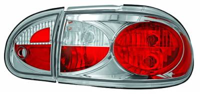 Headlights & Tail Lights - Tail Lights - In Pro Carwear - Chevrolet Malibu IPCW Taillights - Crystal Eyes - 1PC - CWT-CE341C