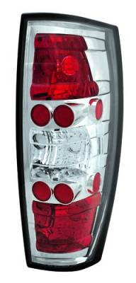 Headlights & Tail Lights - Tail Lights - In Pro Carwear - Chevrolet Avalanche IPCW Taillights - Crystal Eyes - 1 Pair - CWT-CE342C
