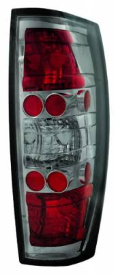 Headlights & Tail Lights - Tail Lights - In Pro Carwear - Chevrolet Avalanche IPCW Taillights - Crystal Eyes - 1 Pair - CWT-CE342CS