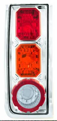 Headlights & Tail Lights - Tail Lights - In Pro Carwear - Hummer H2 IPCW Taillights - Crystal Eyes - 1 Pair - CWT-CE343CA