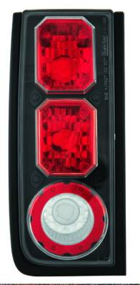 Headlights & Tail Lights - Tail Lights - In Pro Carwear - Hummer H2 IPCW Taillights - Crystal Eyes - 1 Pair - CWT-CE343CB