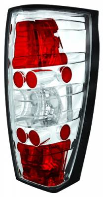 Headlights & Tail Lights - Tail Lights - In Pro Carwear - Cadillac Escalade IPCW Taillights - Crystal Eyes - 1 Pair - CWT-CE347C