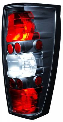 Headlights & Tail Lights - Tail Lights - In Pro Carwear - Cadillac Escalade IPCW Taillights - Crystal Eyes - 1 Pair - CWT-CE347CB