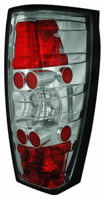 Headlights & Tail Lights - Tail Lights - In Pro Carwear - Cadillac Escalade IPCW Taillights - Crystal Eyes - 1 Pair - CWT-CE347CS