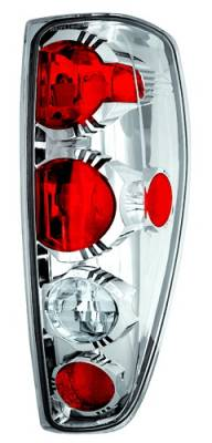 Headlights & Tail Lights - Tail Lights - In Pro Carwear - GMC Canyon IPCW Taillights - Crystal Eyes - 1 Pair - CWT-CE355C