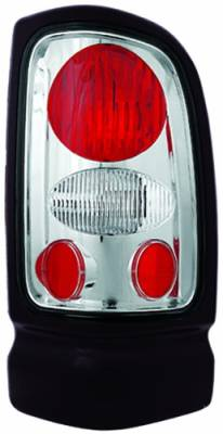 Headlights & Tail Lights - Tail Lights - In Pro Carwear - Dodge Ram IPCW Taillights - Crystal Eyes - 1 Pair - CWT-CE401C
