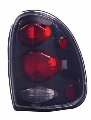 Headlights & Tail Lights - Tail Lights - In Pro Carwear - Dodge Durango IPCW Taillights - Crystal Eyes - 1 Pair - CWT-CE405CF