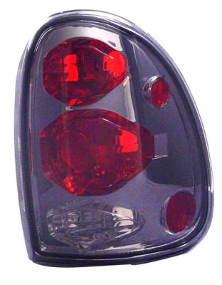 Headlights & Tail Lights - Tail Lights - In Pro Carwear - Plymouth Voyager IPCW Taillights - Crystal Eyes - 1 Pair - CWT-CE405CS