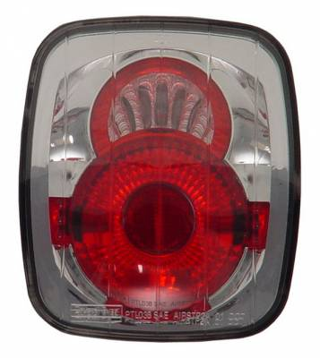 Headlights & Tail Lights - Tail Lights - In Pro Carwear - Jeep Wrangler IPCW Taillights - Crystal Eyes - 1 Pair - CWT-CE407C