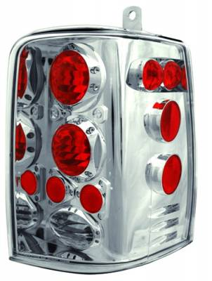 Headlights & Tail Lights - Tail Lights - In Pro Carwear - Jeep Grand Cherokee IPCW Taillights - Crystal Eyes - 1 Pair - CWT-CE5001C