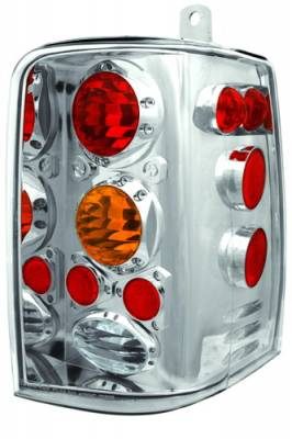 Headlights & Tail Lights - Tail Lights - In Pro Carwear - Jeep Grand Cherokee IPCW Taillights - Crystal Eyes - 1 Pair - CWT-CE5001CA