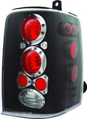 Headlights & Tail Lights - Tail Lights - In Pro Carwear - Jeep Grand Cherokee IPCW Taillights - Crystal Eyes - 1 Pair - CWT-CE5001CB
