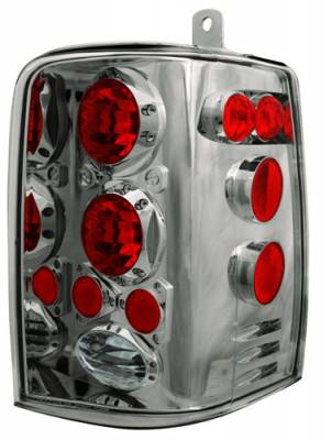Headlights & Tail Lights - Tail Lights - In Pro Carwear - Jeep Grand Cherokee IPCW Taillights - Crystal Eyes - 1 Pair - CWT-CE5001CS