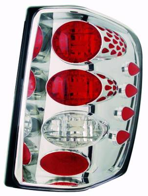 Headlights & Tail Lights - Tail Lights - In Pro Carwear - Jeep Grand Cherokee IPCW Taillights - Crystal Eyes - 1 Pair - CWT-CE5002C