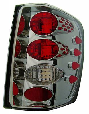 Headlights & Tail Lights - Tail Lights - In Pro Carwear - Jeep Grand Cherokee IPCW Taillights - Crystal Eyes - 1 Pair - CWT-CE5002CS