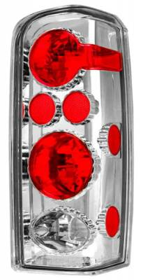 Headlights & Tail Lights - Tail Lights - In Pro Carwear - Jeep Cherokee IPCW Taillights - Crystal Eyes - 1 Pair - CWT-CE5004C